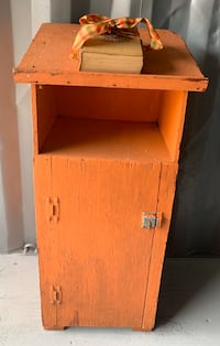 Antique Vintage Painted Cabinet Pasadena, 21122
