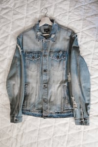 """Request brand"" Distressed Denim jacket  Lakewood, 90715"