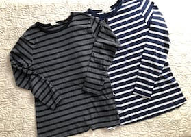 Boys Ling Sleeve T Shirts, Lot of TWO
