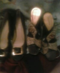 Two pair New shoes size nine Macon
