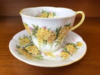 EUC Vintage Royal Albert Blossom Time Series Laburnum Tea Cup & Saucer Ajax, L1Z 1C9