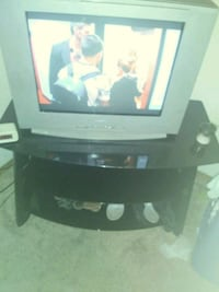 Black Glass tv stand  Only had for 3month Owensboro, 42303