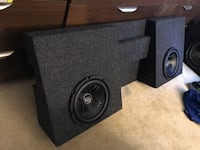 Toyota Tacoma Subwoofer box and subwoofers Falls Church, 22042