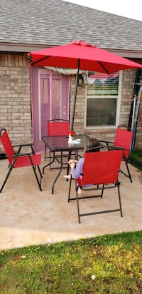 6 p Outdoor Patio Dining Set - price is firm