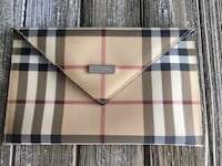 Vintage Check Burberry Pouch