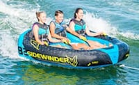 Blue and red inflatable boat Maryville, 37803