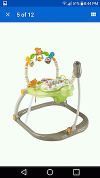 baby's green and white jumperoo Brampton, L6X 1G8