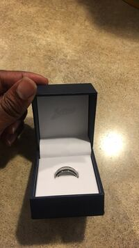 silver and black ring in box Warner Robins, 31005