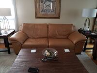 Natuzzi Edition  Leather Couch and Chair, Excellent Condition! Bolton, L7E 1X4
