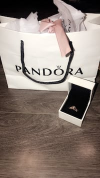 *BRAND NEW* Rose Gold Princess Pandora Ring Cambridge, N1R 5Y8