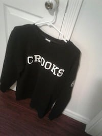 Large mens crooks and castles crew