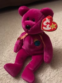 Rare Ty Beanie Babies Millennium 2000 Mint Condition with Tag