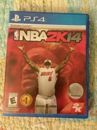 Ps4 game, NBA 2k14 Fredericksburg, 22406