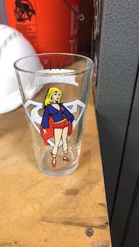 Supergirl beer glass  Corona, 92882