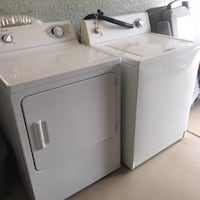 Washer (Roper-2007) and Dryer (GE-2009) pair