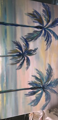 Palm trees painting Mississauga, L5M 7T9