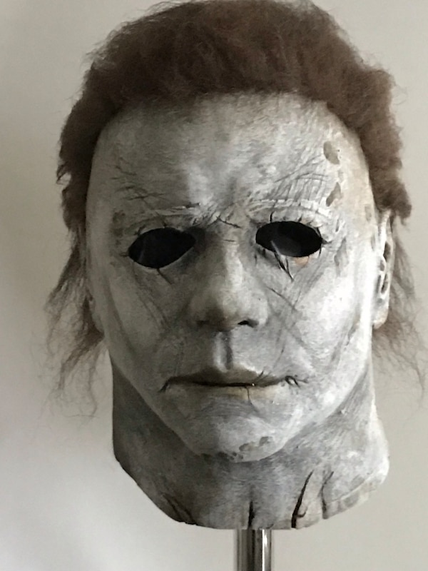 Halloween 2018 Michael Myers Mask.Repainted Michael Myers Halloween 2018 Mask By Tots