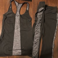 Victoria's Secret Workout Wear Set size XS Edmonton, T5R 5W9