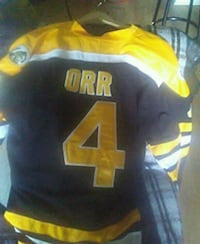 black and yellow ORR 4 jersey Toronto, M5A 2V8