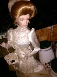 Glass porcelain doll Milford