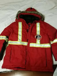 red and yellow winter jacket Calgary, T2J 2V9