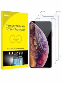 Tempered Glass screen protector for iPhone X/Xs Ottawa, K1A 1G1