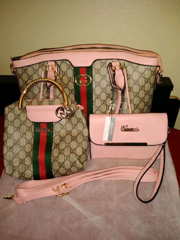 7c48746a711 Gucci Gucci purse 3 piece set