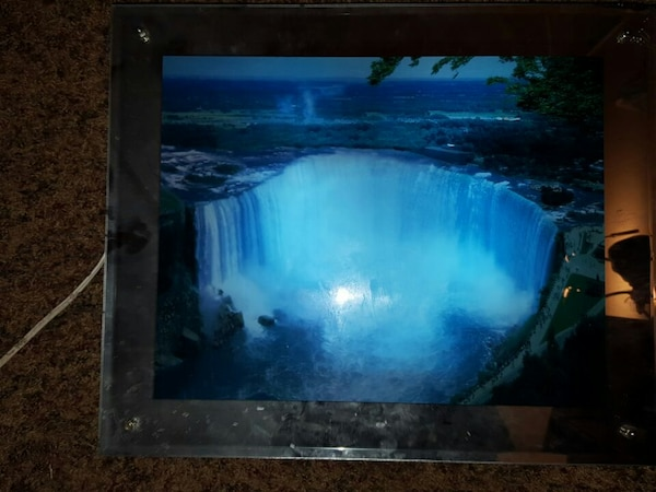 Used Moving And Sound Waterfall Light For Sale In North Salt Lake