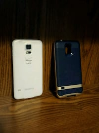 white Samsung android smartphone with case Fort Wayne, 46825