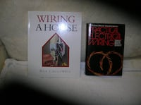 Two (2) books on electrical wiring Springfield