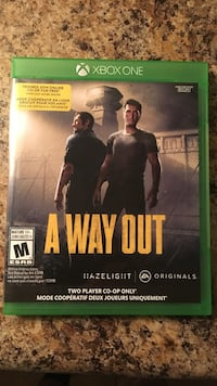 Microsoft xbox one 'a way out' (new)