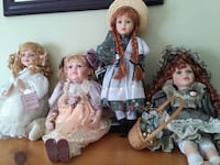 Porcelain collectable dolls Innisfil, L9S 1T6