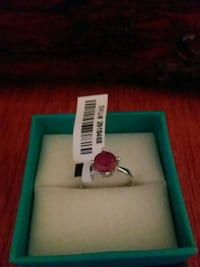 Natural ruby size 7.    Woodstock, 12498