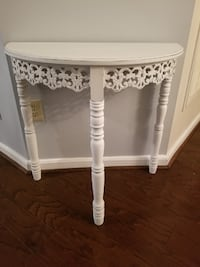 ***READ INFO*** Cute White Shabby Chic Rustic Accent Table Decor Rockville