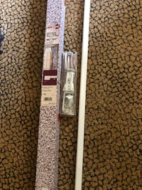 "Universal Patio Traverse Rod 66""-120"" (Never used) Gaithersburg"