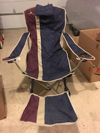 Camp chair with foot rest Greeley, 80634