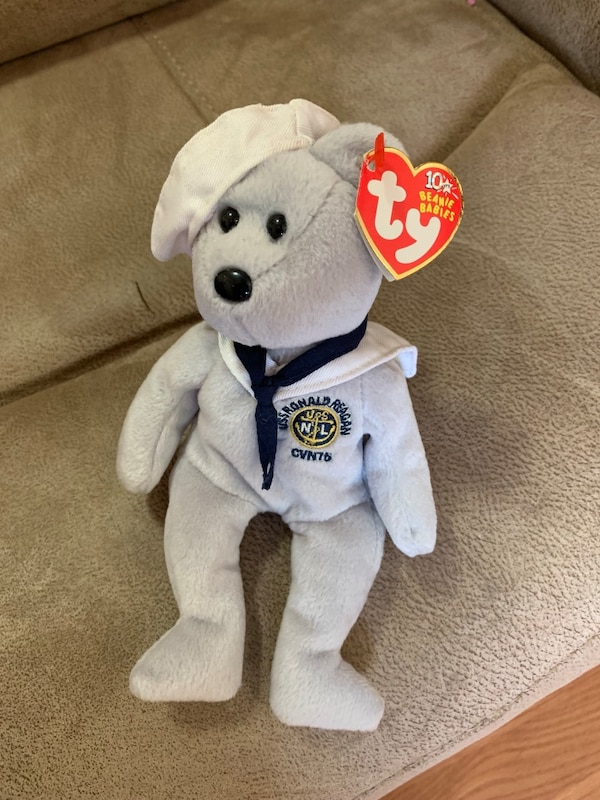 07b94e2f4b6 Used Ronnie Ty beanie baby for sale in Jersey City - letgo