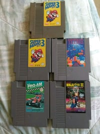 Nes games for sale.  Toronto, M1C 1T8