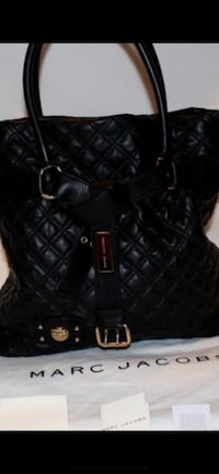 Marc Jacobs Quilted Casey BLK Tote/Satchel *Reduced 50% final price*