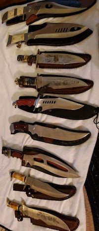 Chip away cutlery Bowie knives  Gardners, 17324