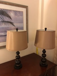 Table Lamps w/shades