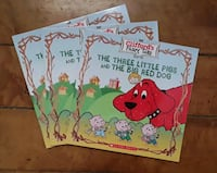 3NEW Clifford's Fairy Tales The Three Little Pigs  Martinsburg, WV, USA, 25401