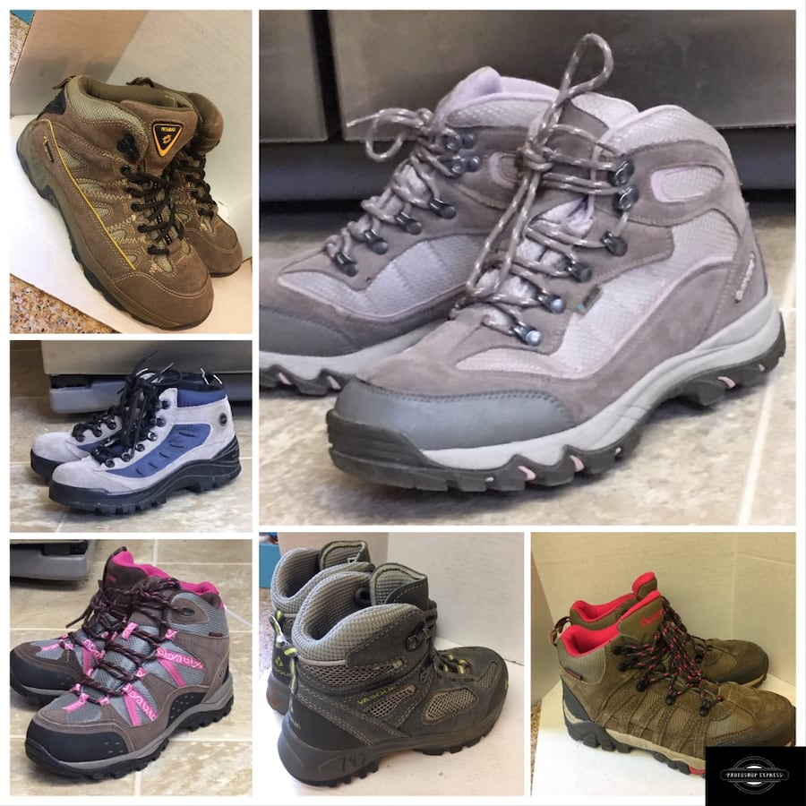 Hiking waterproof shoes and boots