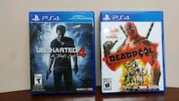 PS4 Uncharted4 & Deadpool Winnipeg, R2J 1Z9