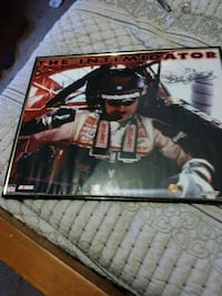 autographed Dale Earnhardt poster Hickory