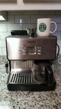 Stainless steel Krups espresso and coffeemaker  Knoxville, 37919