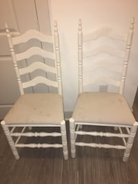 Two farmhouse chairs Rockville, 20850
