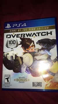 Overwatch Origins Edition PS4 game case Washington, 20024
