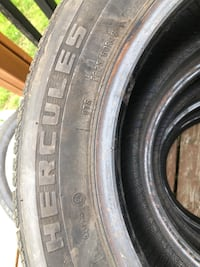 4 Hercules All-season Tires (225/60R16) Kitchener, N2E