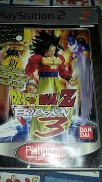 DRAGNBALL Z BUDOKAI 3. PS2